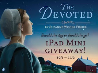 Suzanne Woods Fisher's 'The Devoted' iPad Mini Giveaway