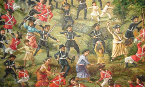 Anglo Nepalese war,A war fought by Brave Neplai warriors