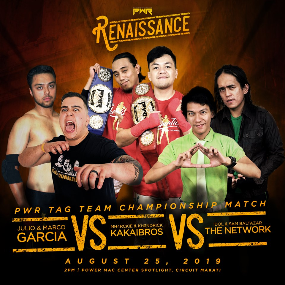PWR Renaissance Predictions: Garcia Brothers vs. The Network vs. KakaiBros
