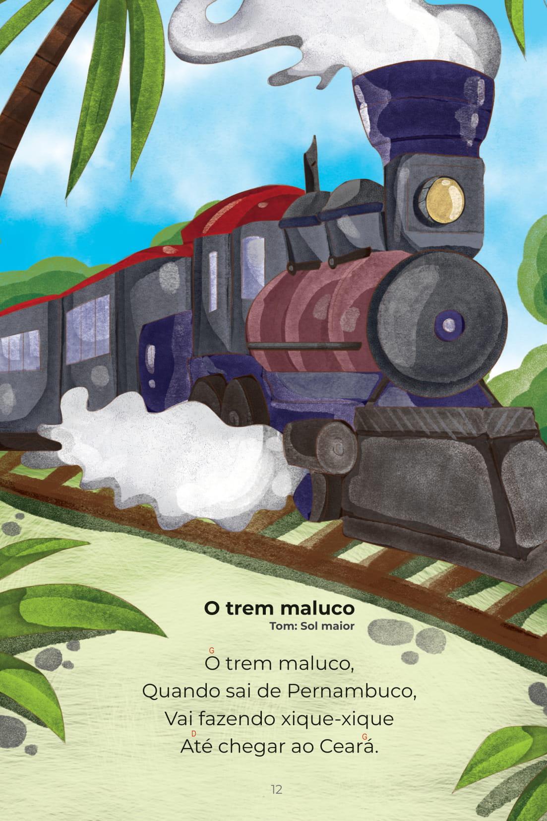 Cantigas Coleção Conta pra Mim O trem maluco