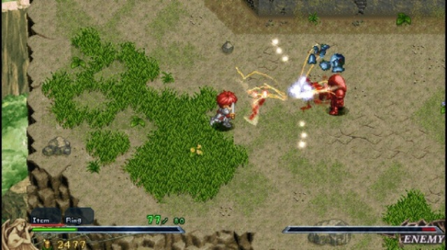 Ys 1 & 2 Chronicles PC Games Gameplay