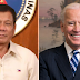 Pangulong Duterte, Binati si US President- Elect Joe Biden