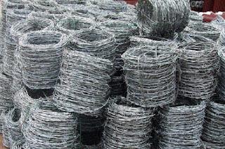 Sentral Kawat - Produksi & Pabrik Kawat Duri Galvanis berbagai ukuran.