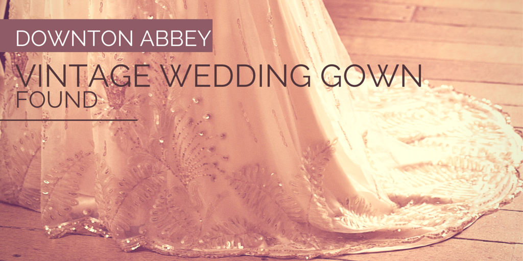downton abbey 39 s wedding gown will brighten your day