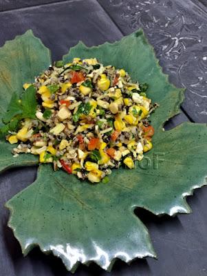 Wild Rice and Corn Salad