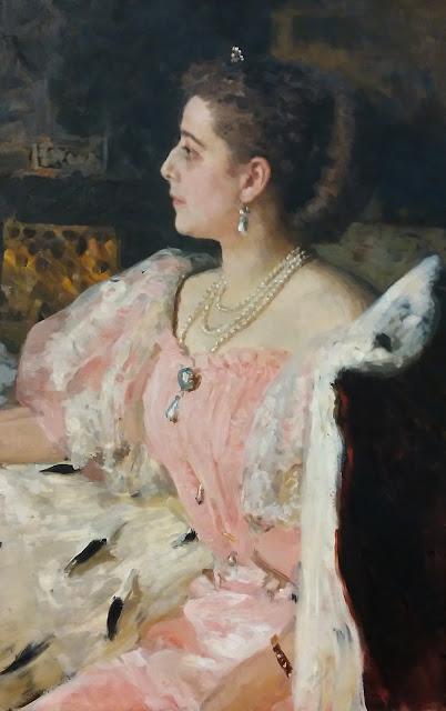 И.Е. Репин Портрет графини Н.П. Головиной, 1896 г.