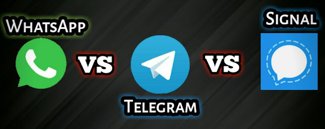 Whatsapp vs Signal vs Telegram  Which is the Highly Secured App in 2021