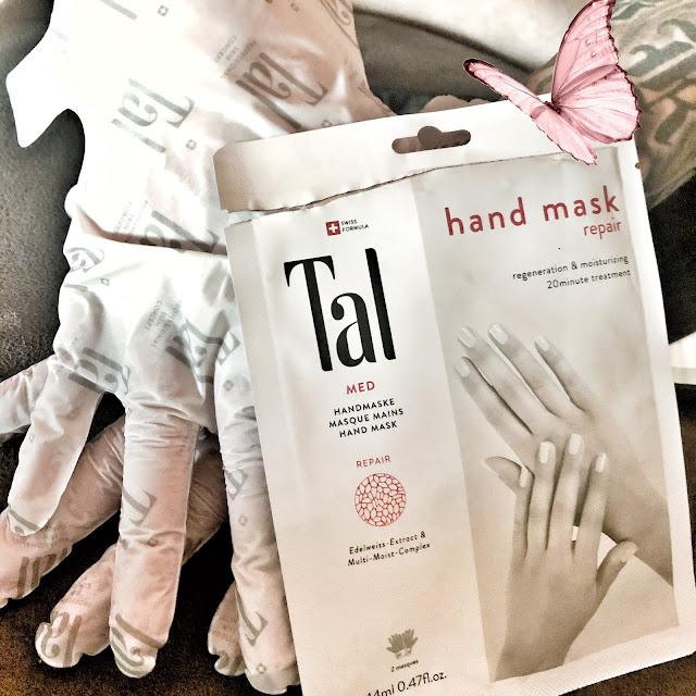 Handmaske für trockene Hände