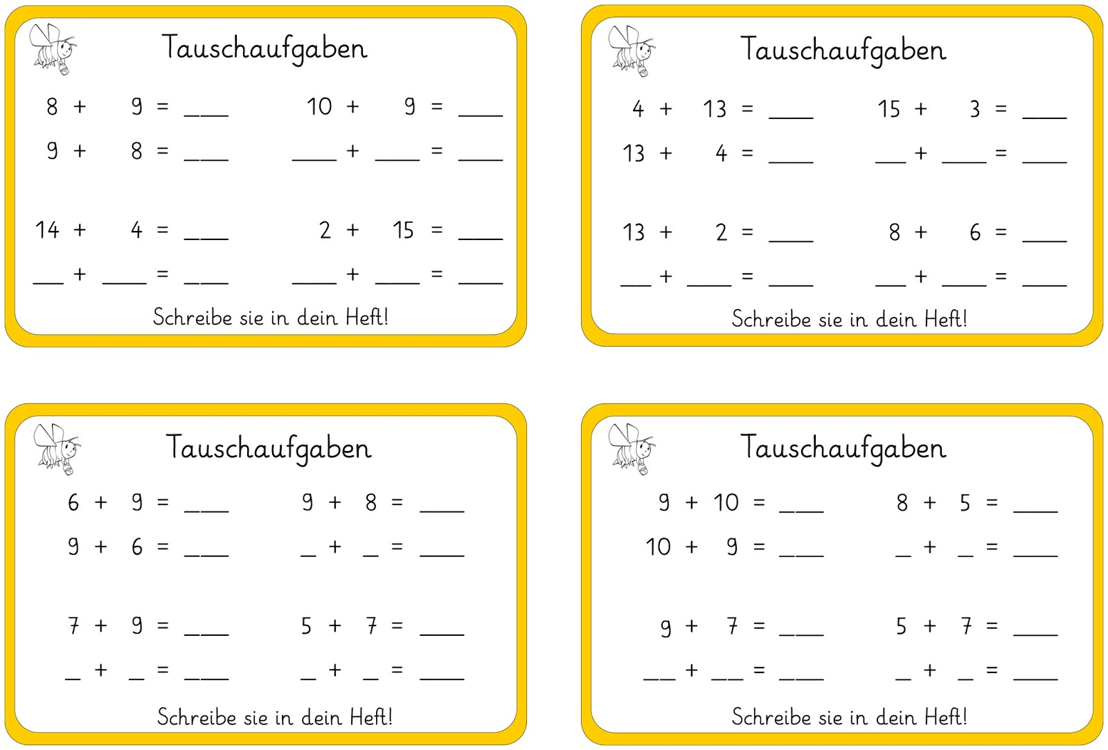 Beste 1Klasse In Mathe Arbeitsblatt Subtraktion Ideen - Mathe ...