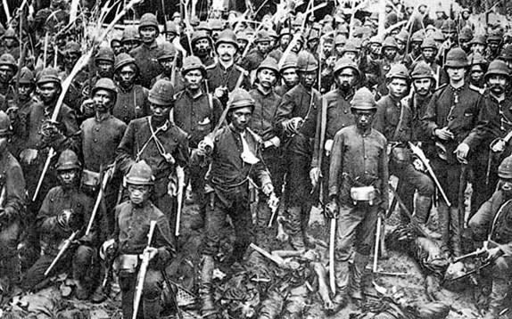 Prajurit Inggris di Indonesia
