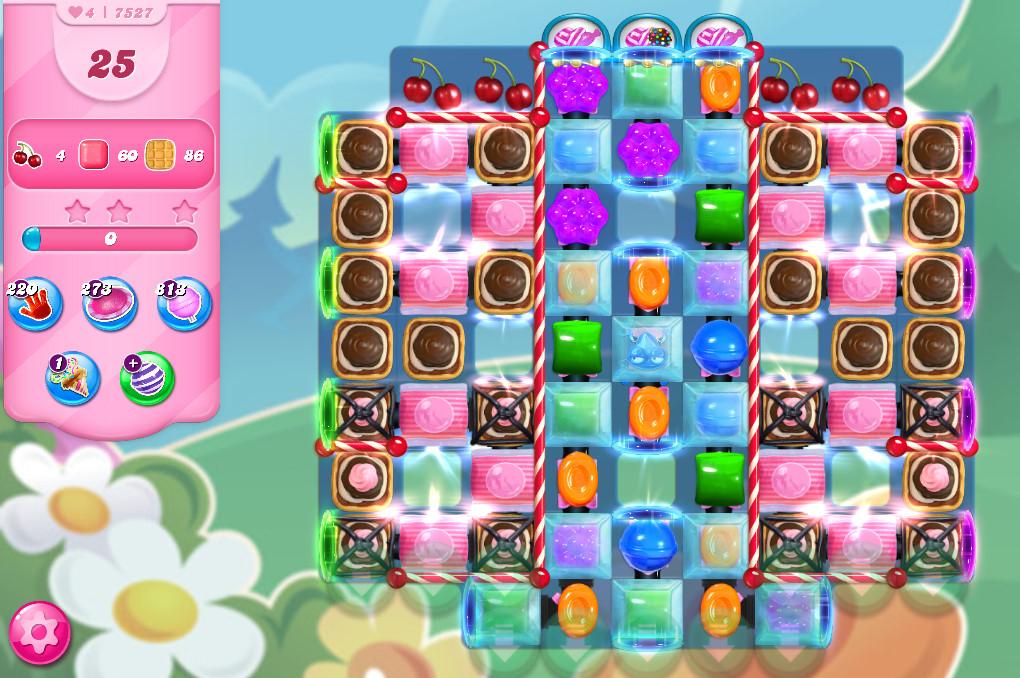 Candy Crush Saga level 7527