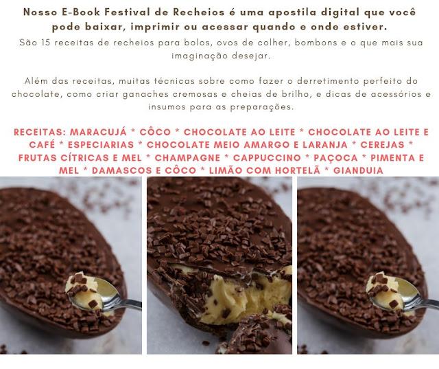 E-Book Festival de Recheios - Chokolateria