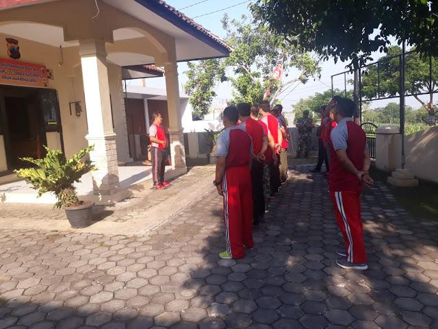 KodimKaranganyar - Sintegritas Koramil dan Polsek Untuk Meningkatkan Kekompakan Serta Kebersamaan di Wilayah