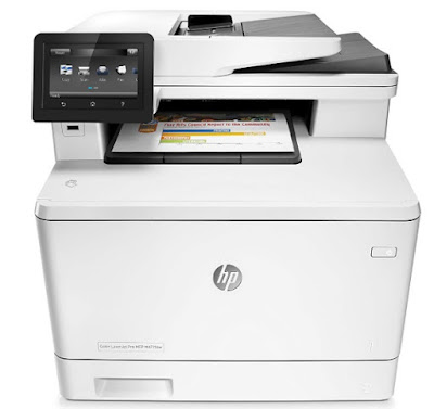 HP Color LaserJet mfp M477fdw treiber