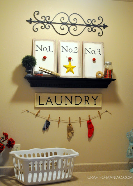 cute laundry rooms www.craft-o-maniac.com