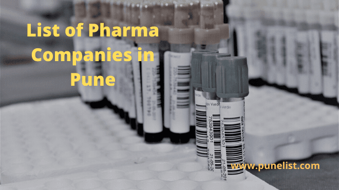 Pharma Companies in Pune