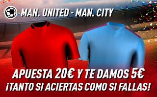 sportium Promocion United vs City 8 marzo 2020