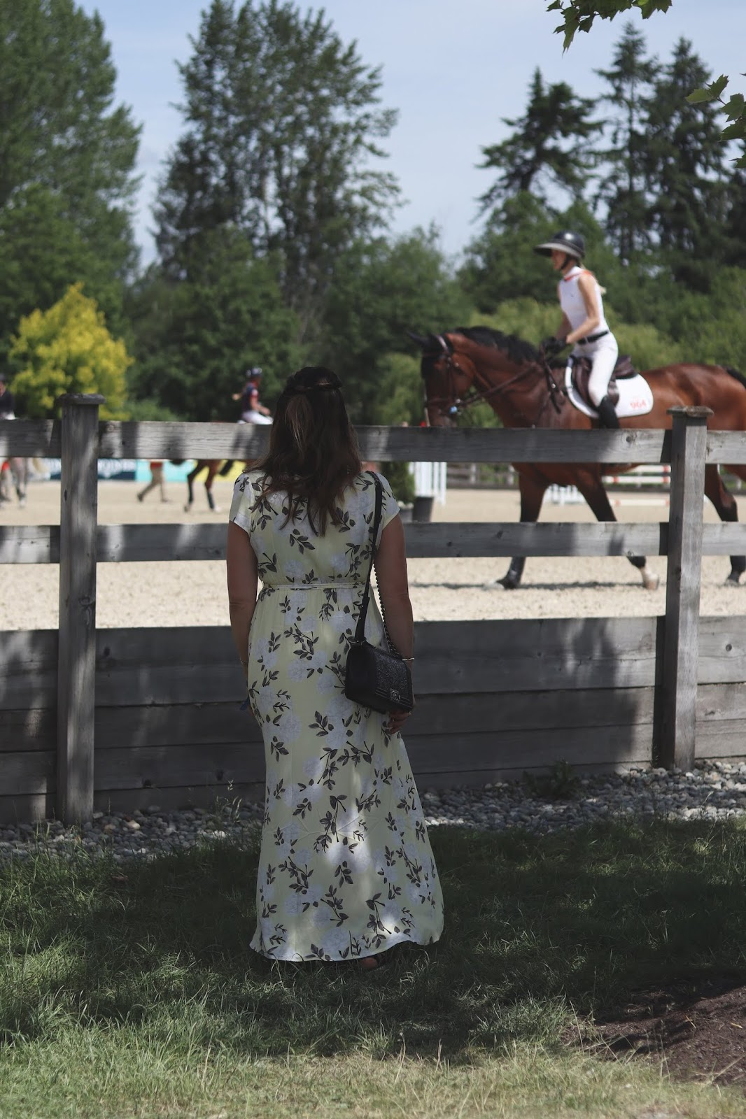 Longines Nations Cup equestrian event outfit idea