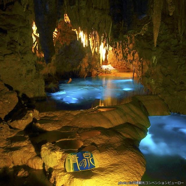 【沖繩世界文化王國‧玉泉洞】超美魔幻鐘乳石洞和很觀光客的文化村