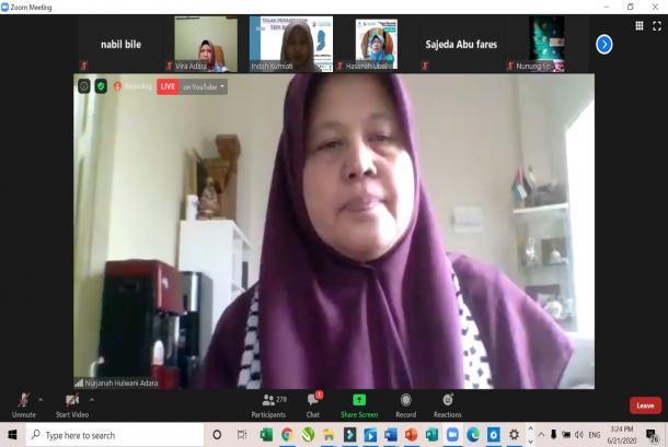 Ormas Muslimah-Lembaga perempuan Tolak Perampasan Tepi Barat