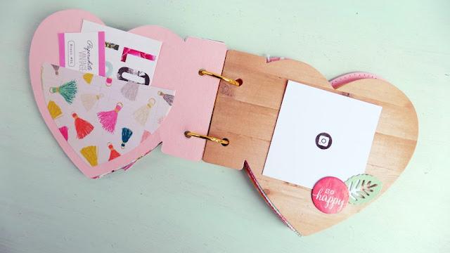 Mini album Cuore per San Valentino