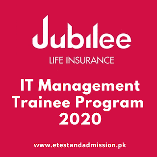 Jubile Insurance IT Trainee Program 2020
