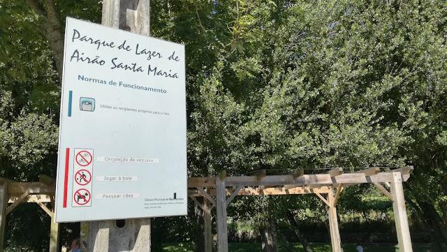 Normas de Foncionamento do Parque de Lazer de Airão Santa Maria