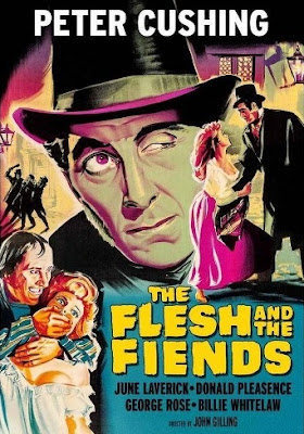 The Flesh and the Fiends Poster