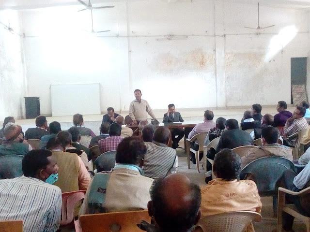 Shahdol News- कार्यालय बुढार पर एक परिसर एक शाला अंतर्गत कार्यशाला की बैठक हुई संपन्न