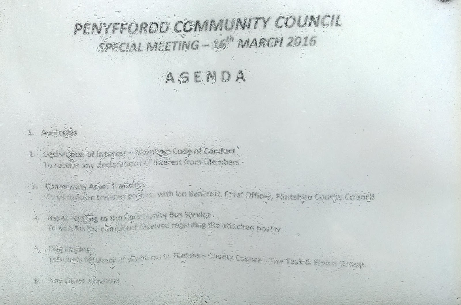 Penyffordd and District - A Personal View: Penyffordd ...