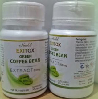 Suplemen Pelangsing Hendel Green Coffee Bean 500mg Original