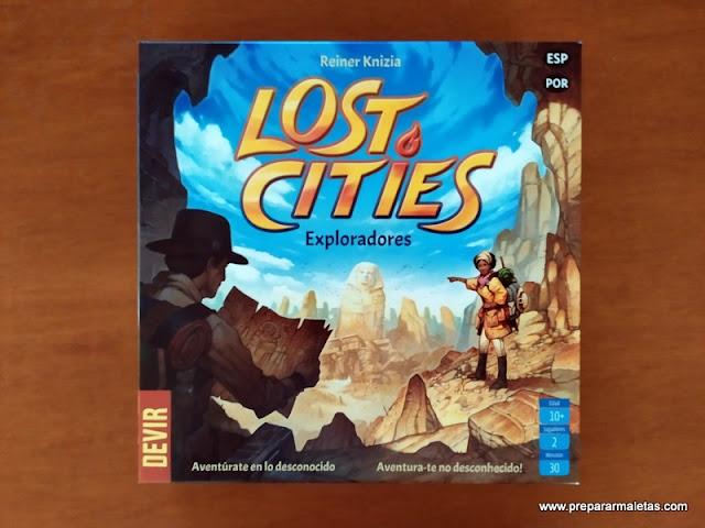 Exploradores, un juego de mesa para hacer expediciones
