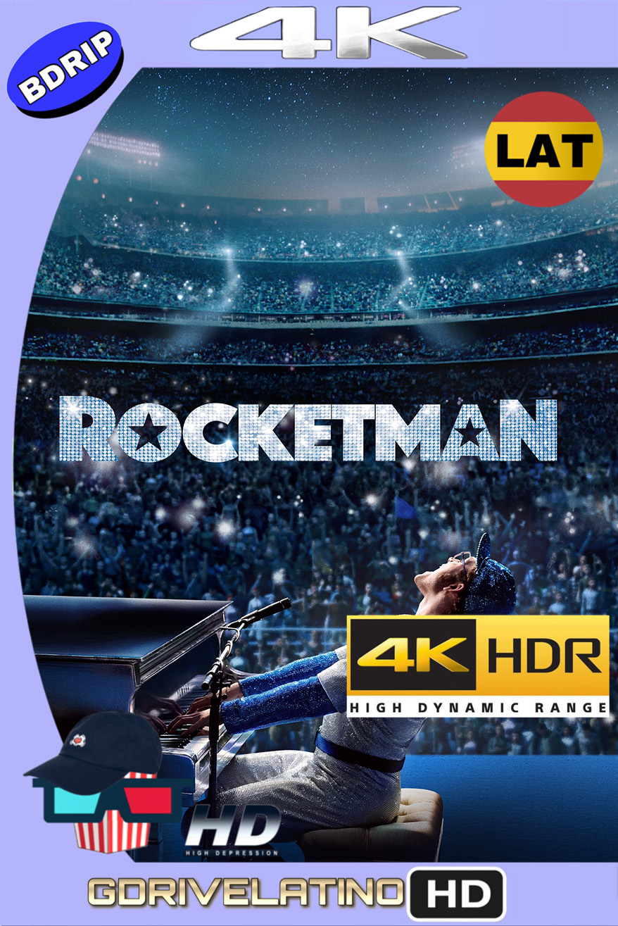 Rocketman (2019) BDRip 4K HDR (Latino-Inglés) MKV