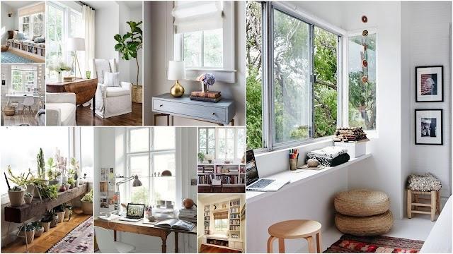 5 Προτάσεις διαμόρφωσης χώρου για τα σημεία κάτω από παράθυρα