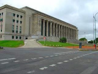 O Prédio Neoclássico da Faculdade de Direito, na Recoleta