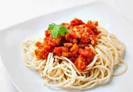 Los espaguetis como opción para comer después de alzar pesas
