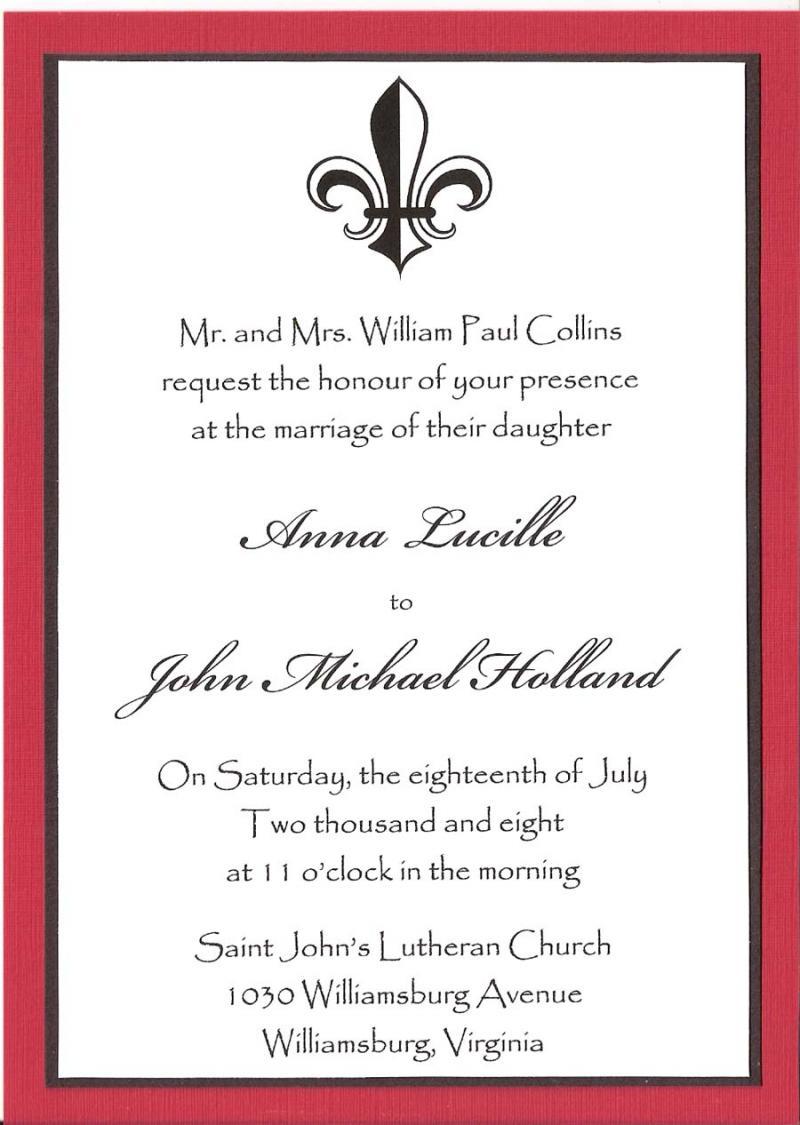 ENGLISH CORNER: INVITATION