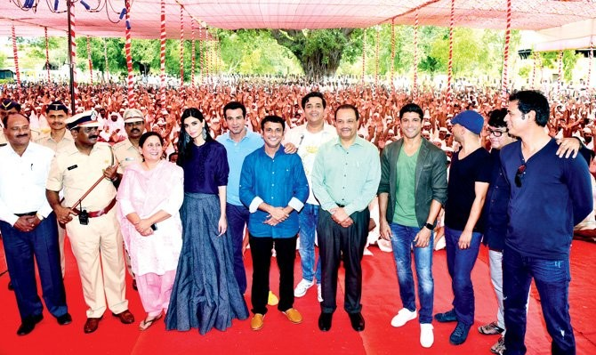 Lucknow Central's Song Launched at Yerwada Central Jail
