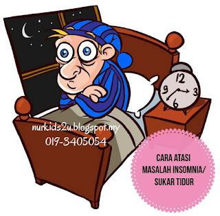 bagaimanakah cara atasi masalah insomnia atau sukar tidur