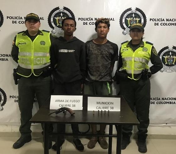 Dos venezolanos sorprendidos atracando en una finca de Codazzi