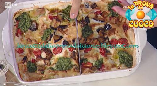 Lasagne alla parmigiana ricetta Spisni, Barzetti, Messeri e Cattelani da Prova del Cuoco