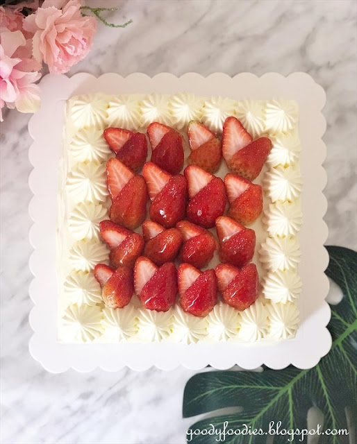 Lachér Patisserie - Strawberry shortcake