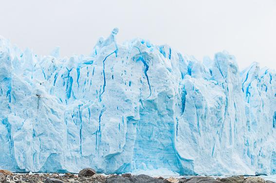 Detalle Glaciar Perito Moreno. Argentina