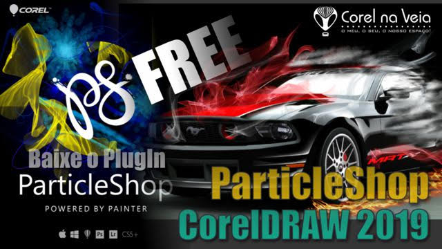 PlugIn ParticleShop no CorelDRAW 2019