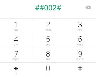 mobile phone secret code
