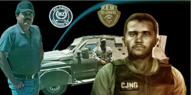 La 'Operativa MZ'-CDS y las FEM-CJNG se pasean en caravanas