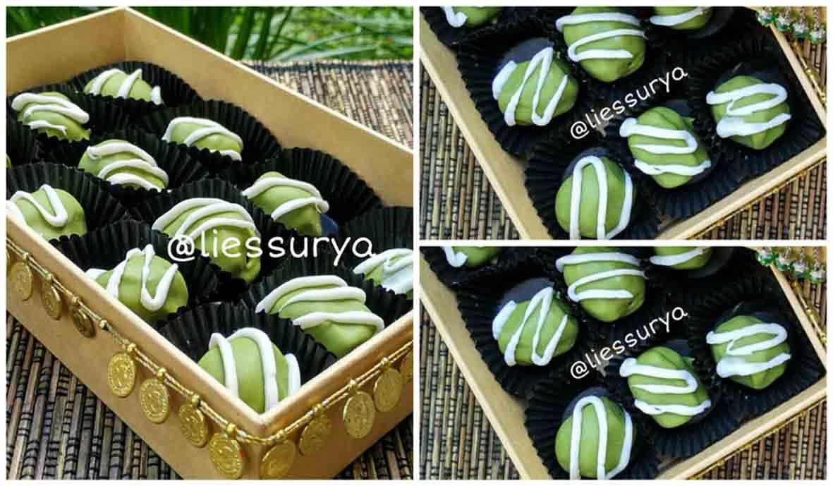 Resep Kurma Lulu Lapis Cokelat Green Tea Praktis dan Enak Banget