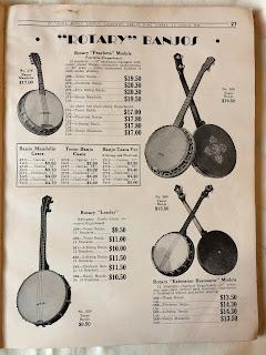Rotary banjos