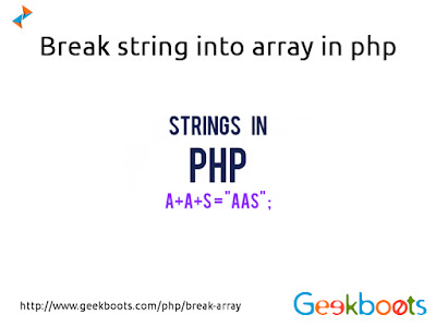 https://www.geekboots.com/php/break-array