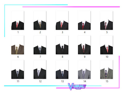 Download Kumpulan Template Jas Pria PNG Dan PSD HD Untuk Pas Photo